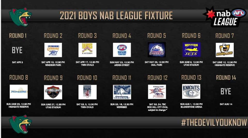 Tasmania Devils coach Cameron Joyce previews the 2021 NAB League Boys season