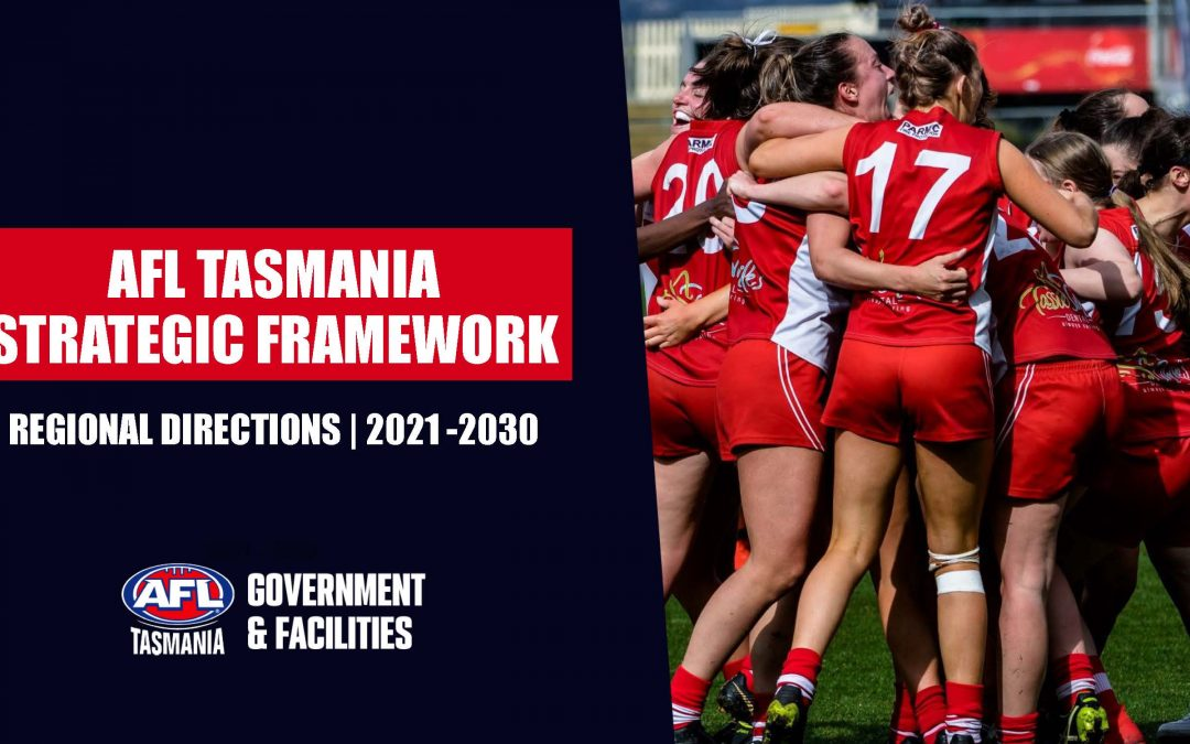 New statewide facilities strategy launched to benefit Tasmanian football
