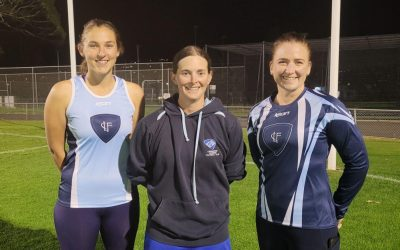 Lindisfarne Women's players step up to help umpiring cause